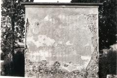 Fondo della Cappella prima del restauro.
