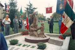 Inaugurazione e Benedizione del Monumento il 22 Settembre 1991